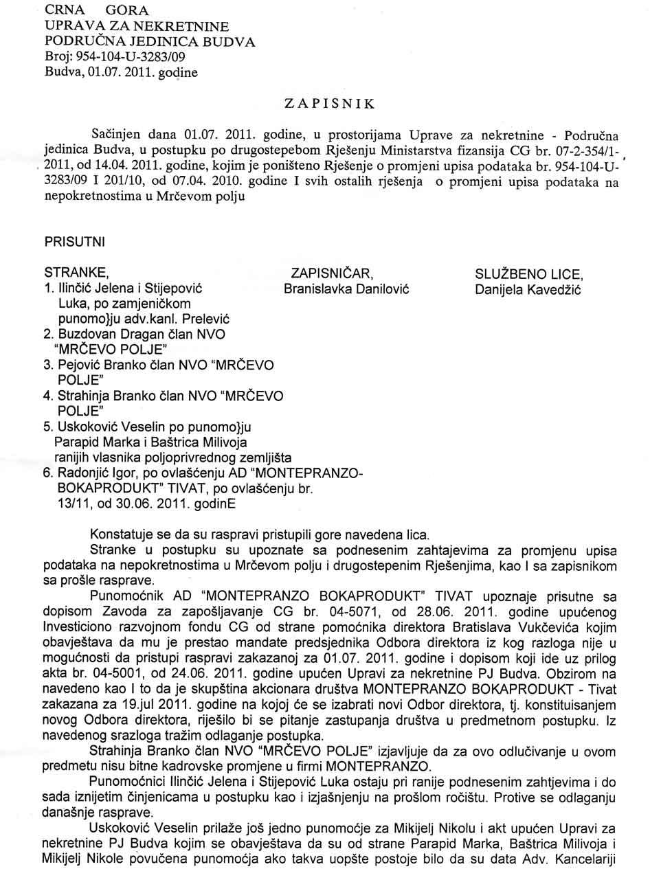 nvojaz.com - ZAPISNIK 01.07.2011.